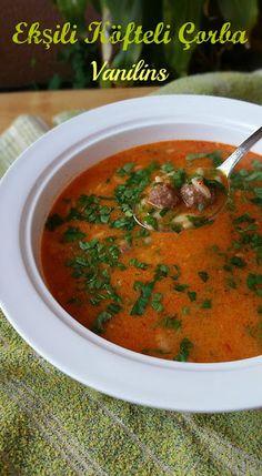 Ekşili köfteli çorba | Vanilins