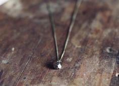 Pyrite necklace. #RachelBall #elephantine