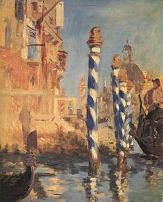 Manet -... his love of Venice