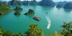 Bahía de Halong en #Vietnam