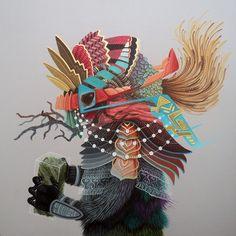 art by El Curiot #art #illustration