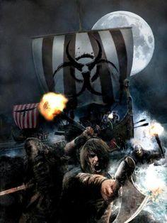 Viking pillage