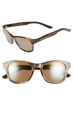 Maui Jim 'Ka'a Point' 51mm PolarizedPlus2® Sunglasses
