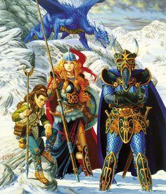 Larry Elmore's art of Dragonlance