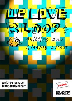 BLOOP - WE LOVE BLOOP  We love...the symbolic English music organisation which starts and finishes the summer in Ibiza and BLOOP will be continuing their collaboration. What's different from last year is that We Love and BLOOP will be having more and regular appointments. Starting off with the pre-BLOOP party and reaching climax at We Love party on the 11th of August on Space's birthday. @welove_music #welove_music #bloopfestival  @Bloop Festival