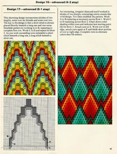 """Lovely heart things: Bargello: """"Until a few interesting schemes"""" Broderie Bargello, Bargello Needlepoint, Bargello Quilts, Needlepoint Stitches, Needlework, Plastic Canvas Stitches, Plastic Canvas Crafts, Plastic Canvas Patterns, Ribbon Embroidery"""