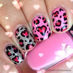 VALENTINE by kimberlymaranan #nail #nails #nailart