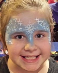 Frozen Princess Face Paint Fabulous Faces Entertainment Artist- Lynda Perry