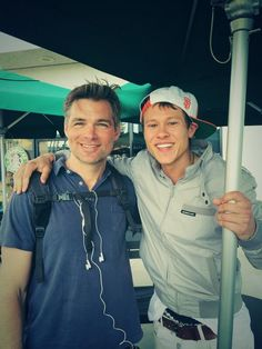 Guy Wilson &  Daniel Cosgrove... Both their characters are dead on #daysofourlives #dool