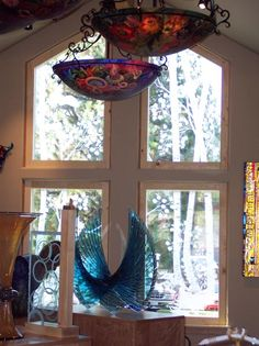Aspen Panels architectural glass by Cynthia Myers