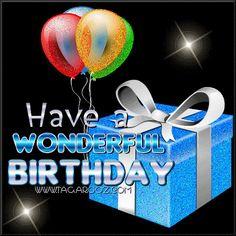 birthday greetings photo: HBD Balloons and Gift Happy Birthday Emoji, Birthday Wishes Songs, Send Birthday Card, Happy Birthday Video, Birthday Cheers, Birthday Blessings, Happy Birthday Sister, Animated Birthday Greetings, Happy Birthday Greetings Friends
