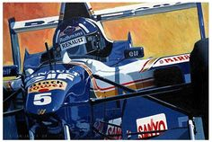 """Damon HIll"" by Brian James"