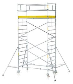 wide aluminum scaffolding system ladder frame allows easy ascent to the top light weight easy