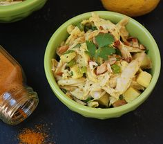 curried apple chicken salad.    also, make paleo mayo in advance and store in fridge for easy dressings, marinades, and salads?
