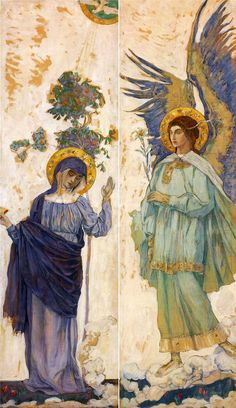Nesterov Mikhail Vasilyevich. Annunciation.