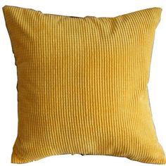 Amazon.com - Solid Yellow Corn Kernels Pattern Polyester Throw Pillow Covers Pillowcase Sham Decor Cushion Slipcovers Square 17x17 Inch - Yellow Pillows For Couch