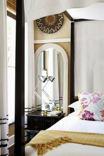 The Romance of Canopy Beds Dream Bedroom, Master Bedroom, Canopy Curtains, Canopy Beds, Design Blog, Oversized Mirror, Eye Candy, Relax, Colours