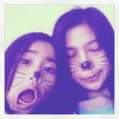 Me with my sister. Got some fun