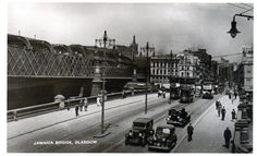 Jamaica Bridge Glasgow Motor Car