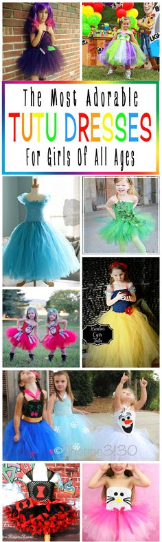 The Most Adorable Tutu Dresses For Girls Of All Ages