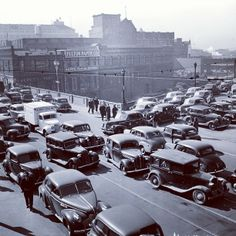 Atlanta rush hour traffic in 1940. Browse and order prints from our collection.