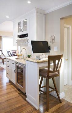 kitchen office + bar