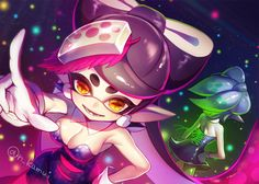 Final stage! #SquidSisters #Callie #Marie
