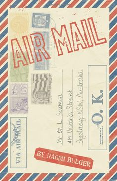 A novella about airmail letters from a stranger