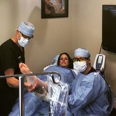 Our vein specialists making sure that the patient is at ease and comfortable during the entire laser vein removal procedure! To find out more about laser vein treatment visit: https://www.veinandvascularofspringhill.com/service/varicose-vein-treatment/ #LaserVeinRemovalSpringHill  #EVLT  #SpringHillVeinSpecialists #VenousInsufficiencyTreatmentSpringHill