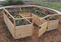 Raised Garden Bed 8'x8' - Outdoor Living Today