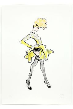 John Galliano for Christian Dior 2009, Gladys Perint Palmer (My other art director!)