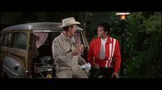 Speedway = Elvis Presley . Scéne du film Avec  William Schallert