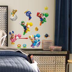 New Super Mario Bros. Wii Wall Decals