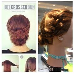 #hairstyles inspired by #Pinterest. #updo