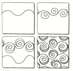 Eddy zentangle pattern