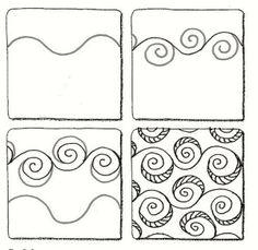 Eddy zentangle pattern