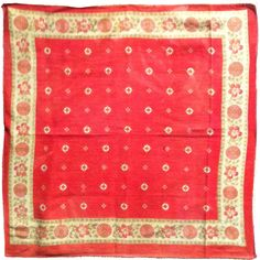 vintage red bandanna from the Cowgirl Hall of Fame