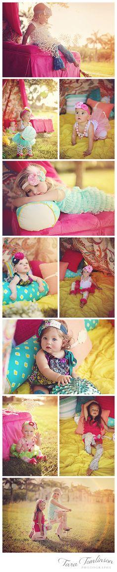 Cute boho kids clothes by Kapri Couture. www.taratomlinson.com