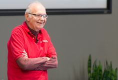 @VMware recently had the honor of hosting Professor Donald Knuth at VMware headquarters as a part of the VMware Academic Program (VMAP) Distinguished Speaker Series. #VMware #VMwareCareers #Whatsnext