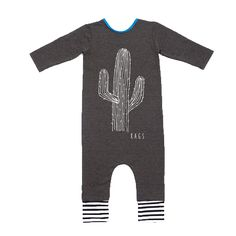 'Cactus' Long Sleeved Romper – phunky