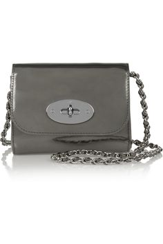 25f71fee32 Mulberry - Lily mini metallic leather shoulder bag