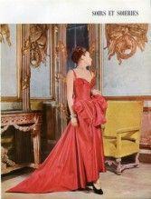Christian Dior 1947 Evening Gown, Pottier, Staron