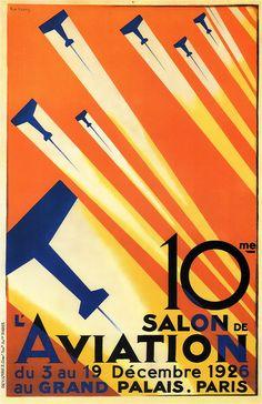 Roger de Valerio, 10th Paris Air Show. 1926