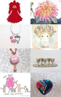 Valentines From the Heart by JimAndGina on Etsy--Pinned with TreasuryPin.com