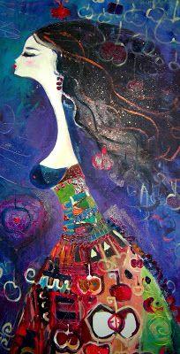 CANAN BERBER - h a t t ı s o u l Illustrations, Illustration Art, Open Art, Turkish Art, Naive Art, Art For Art Sake, Orient, Painting Patterns, Altered Art