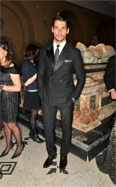 David Gandy at The Glamour of Italian Fashion event - april 1, 2014