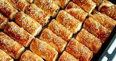 Τυρόπιτα χίλια φύλλα από την Αργυρώ Μπαρμπαρίγου! French Toast, Appetizers, Sweets, Cooking, Breakfast, Food, Kitchen, Morning Coffee, Gummi Candy
