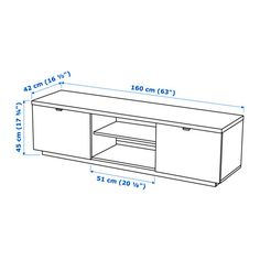 The open compartment has an adjustable shelf for a DVD player or game console.