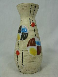 Keramik Vase, Mid-century Modern, Mid Century, Pottery, Beautiful, Germany, Design, Ebay, Decor