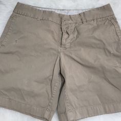 J Crew Broken-In Shorts 2 7 1/2 inch Worn once and washed. J. Crew Shorts